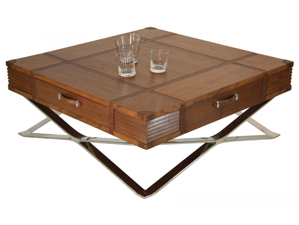 Table basse cinna noyer - Table basse new york ...