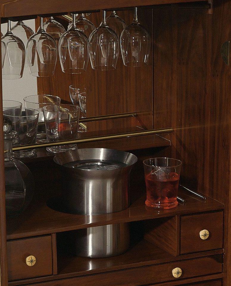 malle bar grise surcouf. Black Bedroom Furniture Sets. Home Design Ideas
