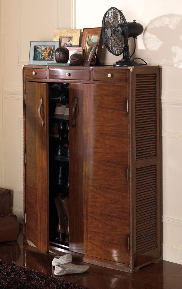 malle chaussures deux portes trois tiroirs pondichery. Black Bedroom Furniture Sets. Home Design Ideas