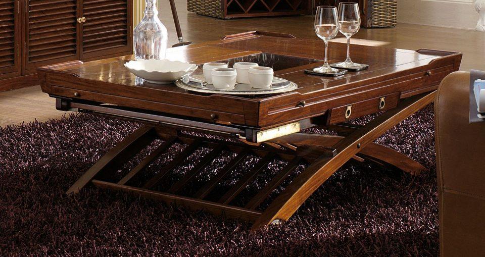 Table basse deux hauteurs magellan for Hauteur d une table basse