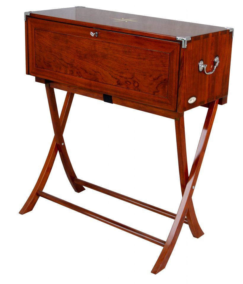 bureau secr taire sept tiroirs indochine. Black Bedroom Furniture Sets. Home Design Ideas