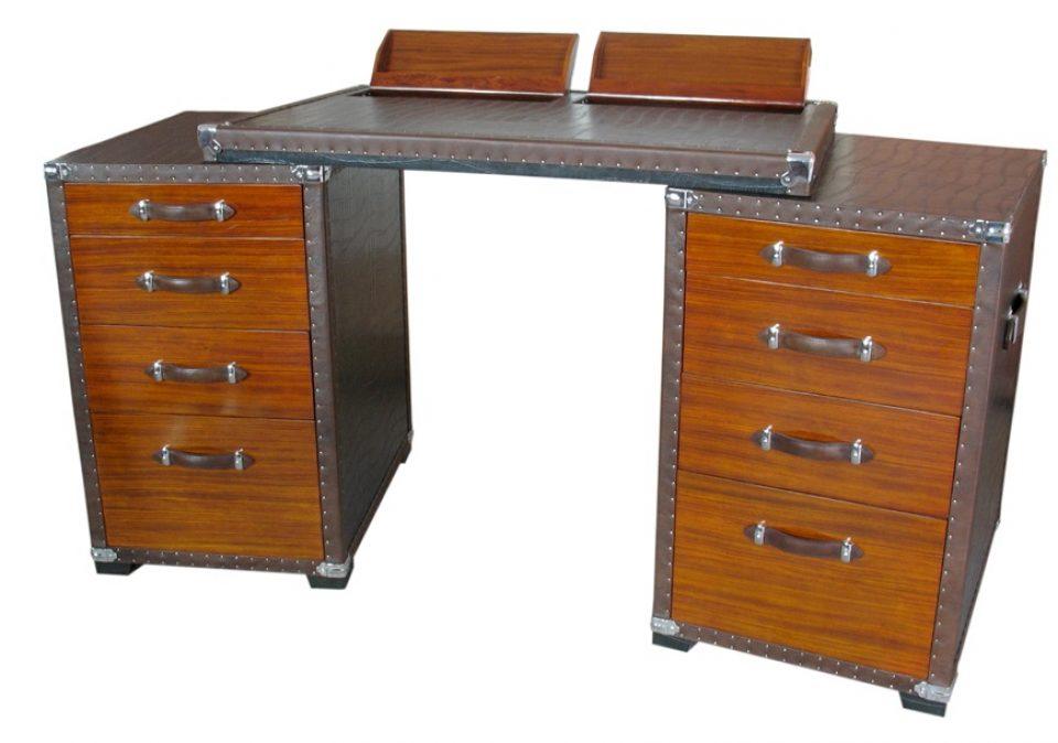 Bureau modulable tiroirs et rangements montenegro for Meuble bureau modulable