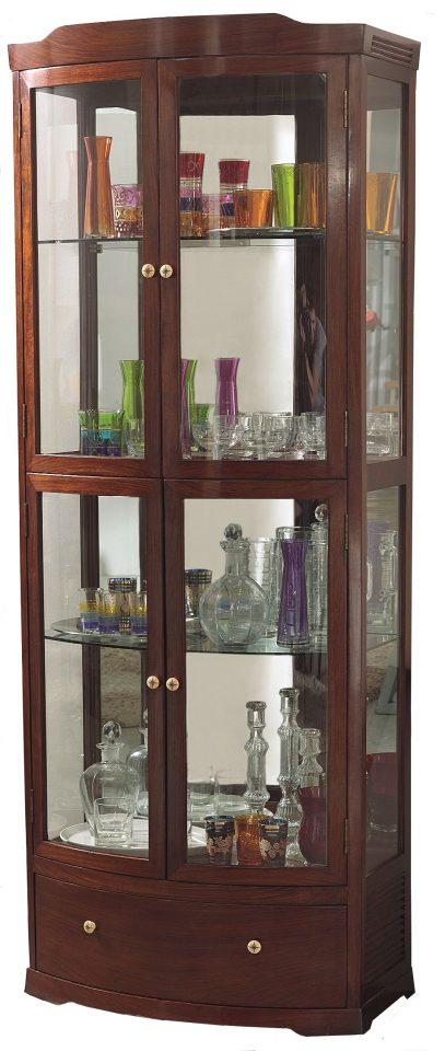 vitrine deux portes un tiroir bengale. Black Bedroom Furniture Sets. Home Design Ideas
