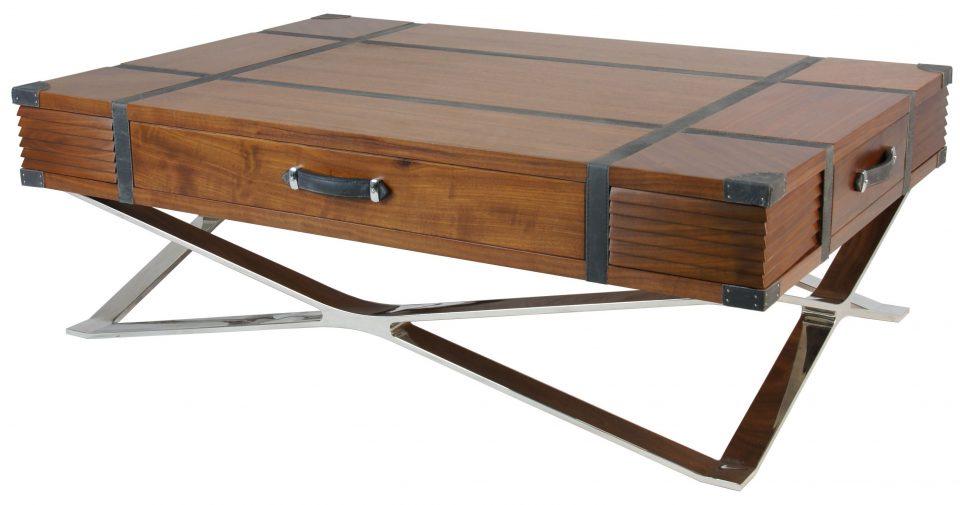 Table basse rectangulaire noyer noir new york - Table basse rectangulaire noire ...