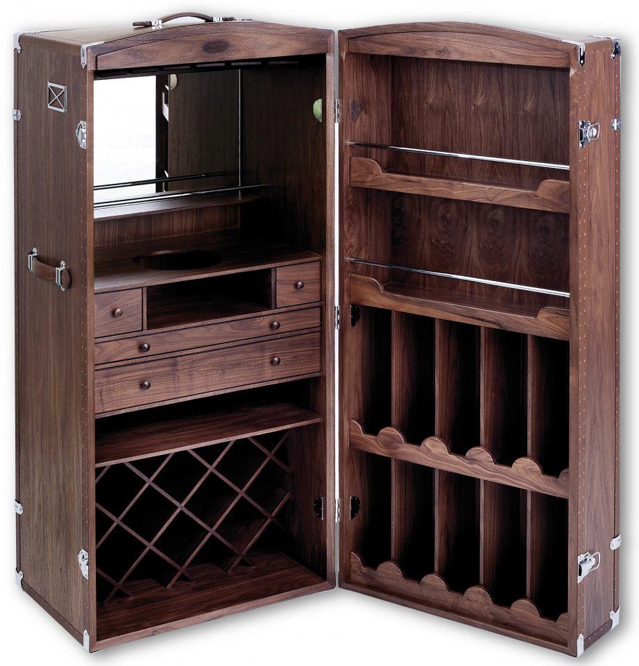 malle bar noyer noir surcouf. Black Bedroom Furniture Sets. Home Design Ideas