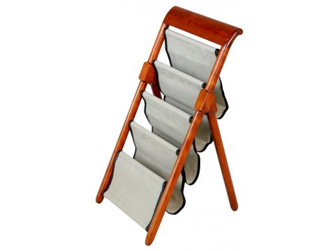 Foldable magazine rack - KEYWEST