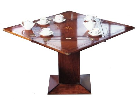 Table carré  pliable - DE GRASSE