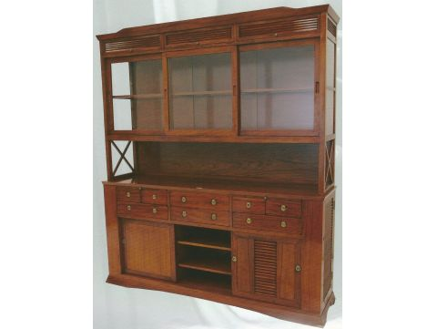 Upper cabinet / Bookcase to side board - VERA CRUZ