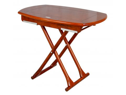 Foldable Table with three heights  122 cm - FUTUNA