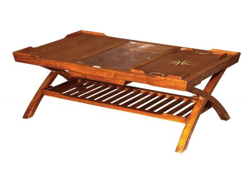 Coffee table  trays and storage - CEYLAN