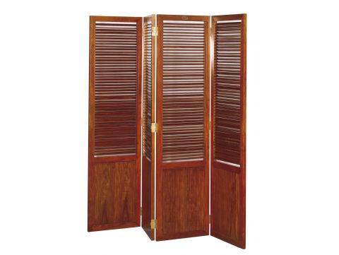 Panel screen with working louvers - GOA