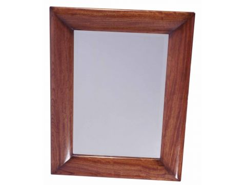 Rectangular mirror Rosewood finish - VALPARAISO