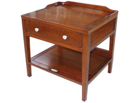 Night stand / Side table one drawer - MALDIVES