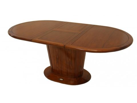 Table à manger avec allonges, douze personnes, 250 cm - MAYOTTE