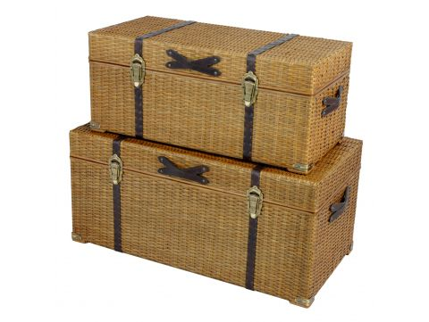 Set of two  trunks - KIGOMA