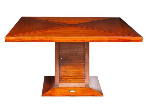 Square dining table,  140 cm - NEWQUAY
