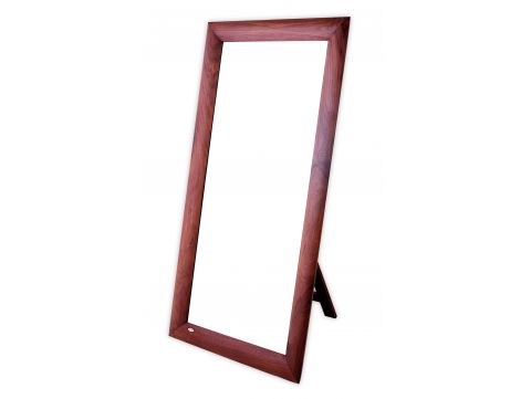 Large mirror in walnut, easel-back - VALPARAISO