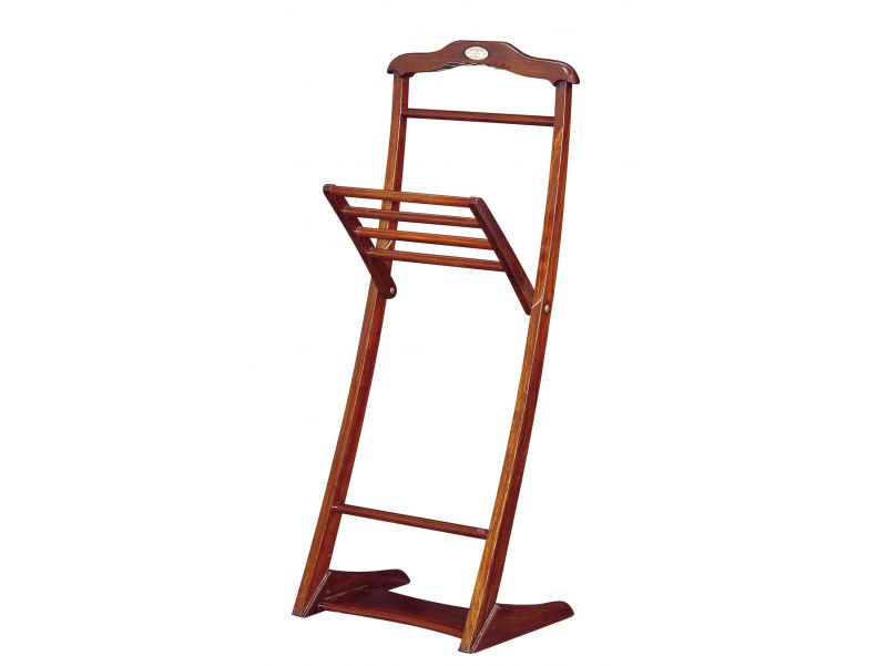 Valet stand, Rosewood finish - NELSON