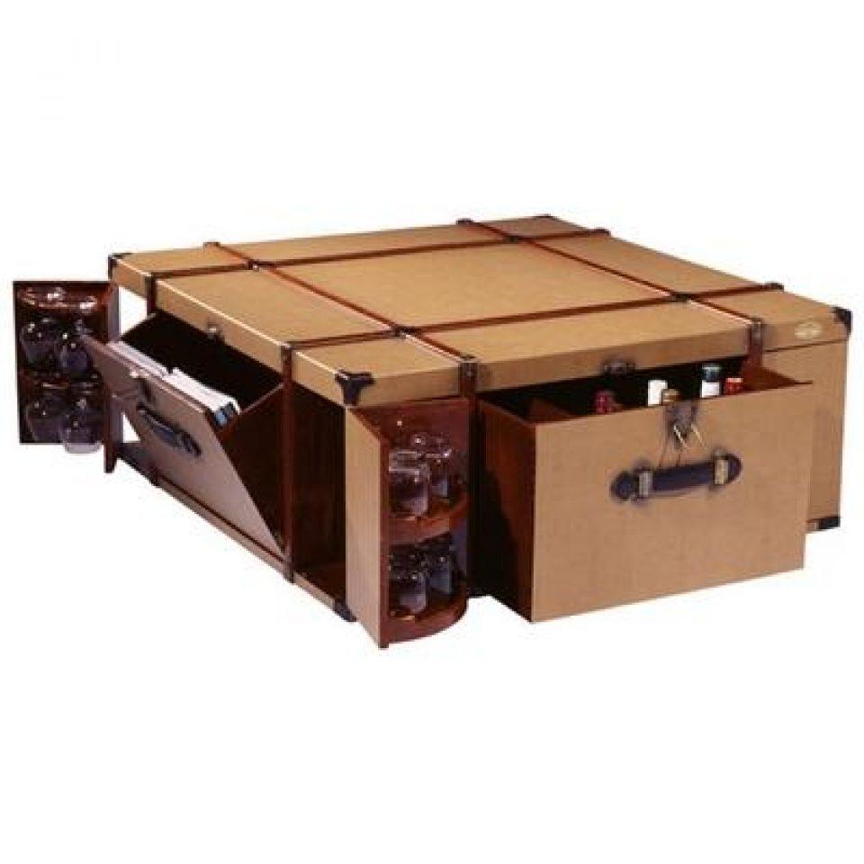 table basse malle bar barbade. Black Bedroom Furniture Sets. Home Design Ideas