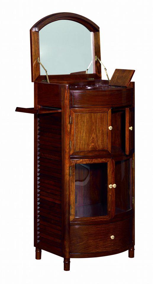 bar un miroir quatre portes et un tiroir cuba. Black Bedroom Furniture Sets. Home Design Ideas
