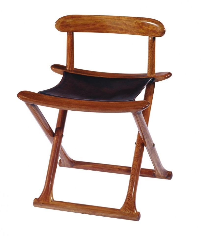 Chaise Pliable Bois Et Cuir