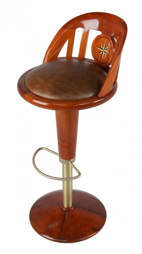 Tabouret de bar pivotant queen mary for Tabouret bar pivotant