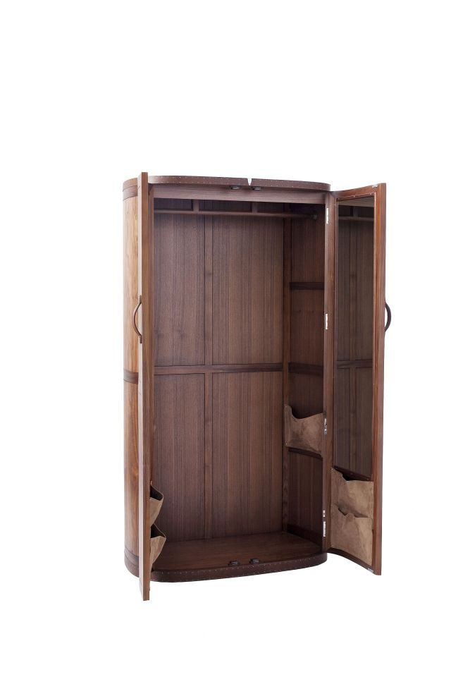 Wardrobe two doors and four drawers walnut - MALAGA  sc 1 st  Starbay & two doors and four drawers walnut - MALAGA