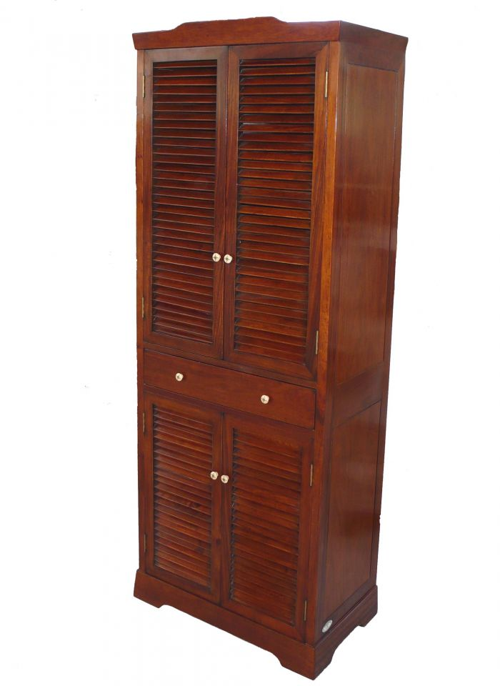 armoire quatre portes un tiroir saint louis. Black Bedroom Furniture Sets. Home Design Ideas