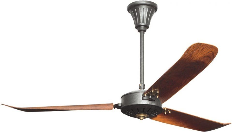 Merveilleux Ventilateur De Plafond, Pales En Bois. Avec Télécommande   LOUISIANE